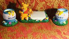 Walt Disney's Three Piece Winnie The Pooh Desk Set