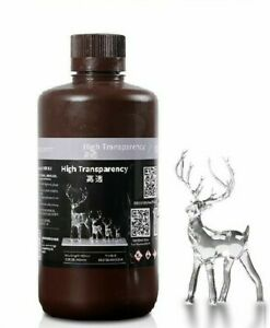 High Transparency UV Resin for MONO 3d Printer 405nm Photopolymer Clear Resin