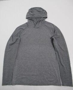 Lululemon Men's Metal Vent Tech Hoodie 2.0 Slate / White Size M Stretch