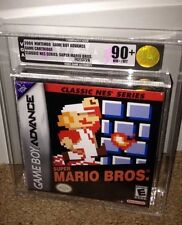 Super Mario Bros. (Classic NES Series Edition) VGA 90+ GOLD! MINT! Nintendo GBA