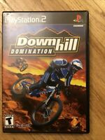 Downhill Domination (Sony PlayStation 2, 2003) PS2 Complete CIB