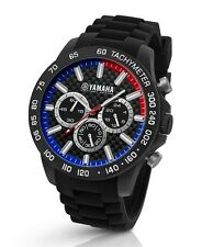 TW Steel Yamaha Factory Racing 45mm Black Strap Chronograph Watch Y112
