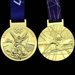 2012 London Summer Olympics Champions Gold Medal 1:1 Craft Gift for Collection