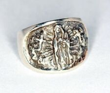 Lady of Guadalupe Sterling Silver Ring