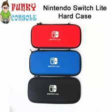 Nintendo Switch Lite Console EVA Hard Protective Case Zip Cover Carry Bag Pouch