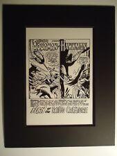 2nd Team-Up 1964 Aquaman & Hawkman Brave & The Bold # 51 Pg 1 Production Art Lad