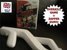 Wii THE HOUSE OF THE DEAD OVERKILL Nintendo + Light Gun Zapper / Blaster
