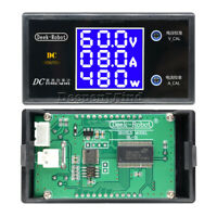 DC 50/100V 5A/10A LCD Display Digital Voltmeter Wattmeter Current Power Tester