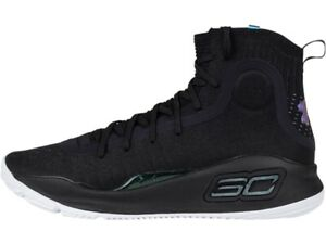 curry 4s black and white