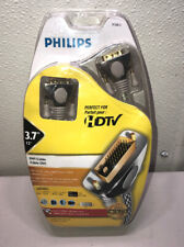Philips HDTV DVI - 24k Gold Plated Connectors- 12 foot Cable # P72812 FREE SHIP