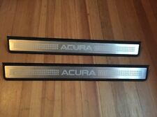 2004 2005 2006 2007 2008 ACURA TL PAIR FRONT DOOR SILL SCUFF STEP PLATES