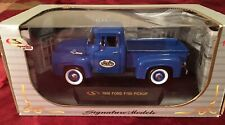 New In Box 1956 FORD F-100 Blue PICKUP TRUCK SIGNATURE MODELS 1:32 Sprouts