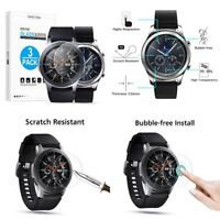 Tempered Glass Screen Protector for Samsung Gear S3 and Galaxy Watch 46Mm 3 PACK