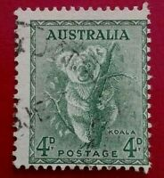Australia:1937 -1949 Definitives 4 P. Rare & Collectible Stamp.