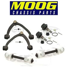 NEW GMC Set of 2 Front Upper & Lower Control Arms Ball Joints and Sway Bars MOOG