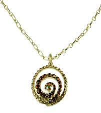 Acrylic Statement Round Costume Necklaces & Pendants