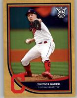 Trevor Bauer 2018 Topps Big League GOLD PARALLEL Indians #95