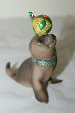 Danbury Mint Baby Animal Christmas Ornament Series Sea Lion Pup with Ornament