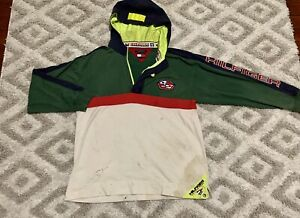 Vintage Tommy Hilfiger Sailing Gear Jacket Authentic - Distressed, Thrashed 90s