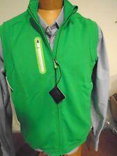 Bobby Jones X-H20 Performance Polyester Gilet Full Zip Vest NWT XL $130 Green