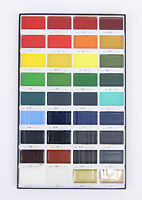 Kuretake MC20/36V Gansai Tanbi Watercolor Paint 36 Colors Set BBG