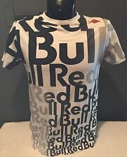 RaRe RED BULL ATHLETE ONLY WAKEBOARDER T-SHIRT MEDIUM GRAPHIC LOGO BLACK & WHITE