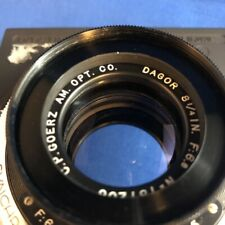 Goerz Golden Dagor Golden Ring 81/4 inch F6.8 Large Format Lens