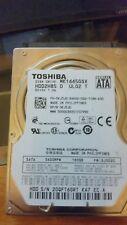 "TOSHIBA 160GB 5400RPM 2.5"" SATA LAPTOP HARD DISK DRIVE  MK1665GSX HDD2H85 TESTED"