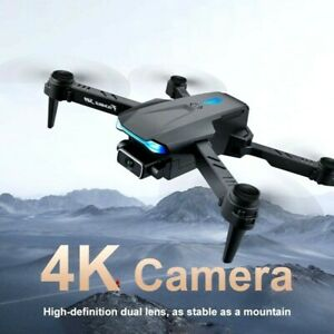 New S89 Pro Drone 4K Dual Camera WiFi Visual Positioning Height Rc Quadcopter