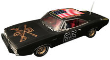 """Pioneer """"The General Grant"""" Black 1969 Dodge Charger DPR 1/32 Slot Car P095"""