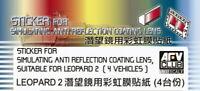 AFV Club 1/35 Anti Reflection Coating Lens for Leopard 2A6EX AC35015