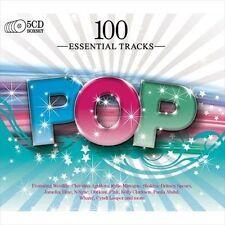 NEW 100 Essential Pop (Audio CD)