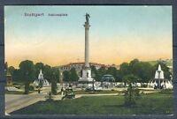 alte Ansichtskarte Stuttgart Schlossplatz