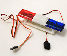 RC Model Car Police Night Flash Bright LED Light 360 Degree Rotation RED&BLUE #1