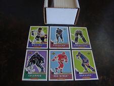 1999-00 Upper Deck Retro Hockey---Complete Set---1-110---Gretzky, Orr, Roy--NrMt