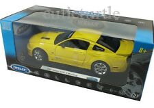 Welly 12569 2007 Saleen S281E Ford Mustang 1:18 Yellow