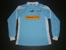 LAZIO HOME player issued shirt ML-LS LEGA 2003-2004 tg. L sz.