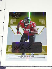 Alge Crumpler: 2006 Leaf Certified #5 Autograph/25 Atlanta Falcons NC Tar Heels