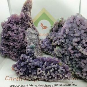 Grape Agate Display Stone