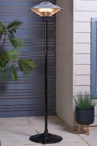 Outdoor Patio Heater 2M Height 1500W IP34 Garden Free Standing, Brand New