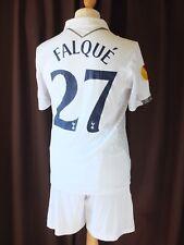 Tottenham Match Worn 2012/13 Falque 27 Europa Camisa y pantalón corto V Maribor 08.11.12