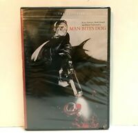 Man Bites Dog (The Criterion Collection) DVD Black & White Foreign Film
