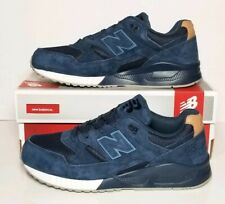 NEW BALANCE MEN'S SIZE 9.5 ENCAP NAVY SUEDE WITH MESH NEW IN BOX   M530SNV