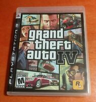Grand Theft Auto IV Sony PlayStation 3 PS3 Rockstar Games GTA Liberty City