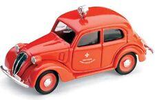 Brumm R63 FIAT 508 C 1100 Berlina HP32 Modello Diecast Auto Red Fire Service 1:43