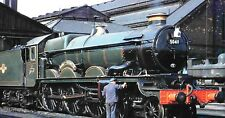 Photo Steam GWR castle Loco 5049 Earl of Plymouth 6X4