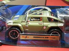 HUMMER HX CONCEPT CAR METALLIC CAMO GREEN NIB