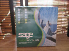 SAGE Instant Accounts Software, Accounting, Book Keeping Windows XP & 2000,(NEW)