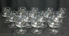BACCARAT 12 verres  à cognac en cristal signé