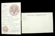 1922 cartolina  FIUME DALMAZIA Legionari Marcia di Ronchi